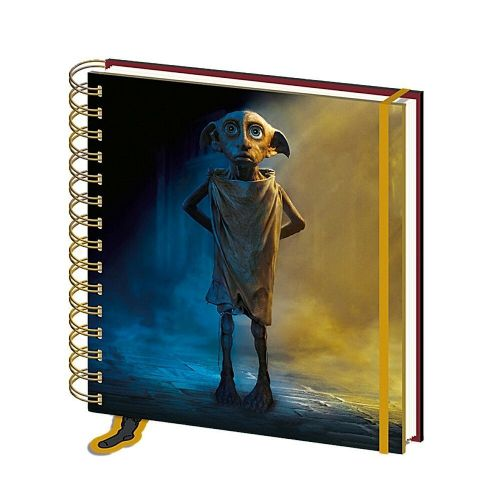 Harry Potter Dobby House Elf Square Notebook Note Pad